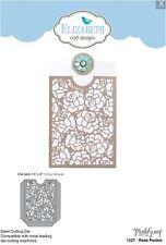 Elizabeth Crafts Designs Cutting Die ~ ROSE POCKET  Filligree, Elegant  ~1327