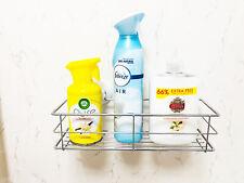 Kitchen Bathroom Drying Rack Sink Suction Cup Shelf Basket Storage Wall Holder