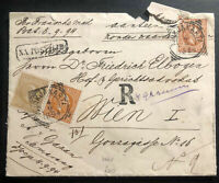 1902 Ojokjakarta Netherlands Indies Postal Stationery Cover To Vienna