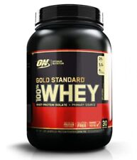 Optimum Nutrition 100% Whey Protein Powder 908g Gold Standard ON isolate