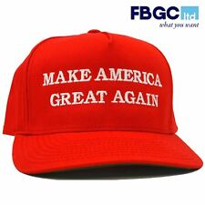 FBGC Donald Trump Embroidered Hat Republican MAKE AMERICA GREAT AGAIN US Cap