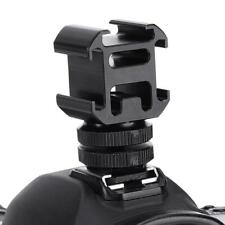 Ulanzi Camera 3 Hot Shoe Mount Adapter Mic Mini LED Camera Video Light For Q6E9