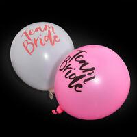 10Pcs Trend Team Bride Balloons Hens Night Bachelorette Party Wedding Decor New