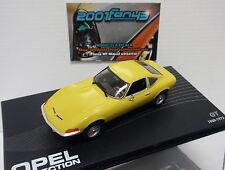 OPEL GT amarillo yellow 1968-1973 1/43 IXO ALTAYA