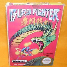 VINTAGE 1991 NINTENDO ENTERTAINMENT SYSTEM NES BURAI FIGHTER GAME CART BOXED