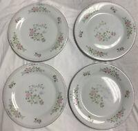 Vintage Crown Ming Jian Shiang Bird of Paradise Fine China - Set 4 Dinner Plates