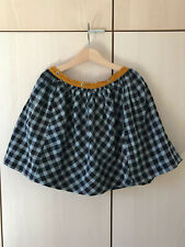 LEOCA Paris (MAKiE Makié Clothier NY)10 Grey/Navy Vichy Skirt