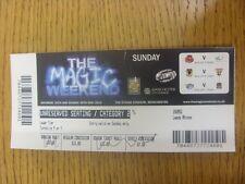 26/05/2013 BIGLIETTO: Rugby League-Magic Weekend-Salford City V Widnes & bradfo
