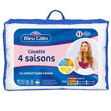 Couette 300 200 G 4 saisons Bleu Câlin - Kl937