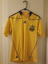 Ukraine YKPAIHA Adidas Soccer Jersey UEFA Euro Football Men's Size S