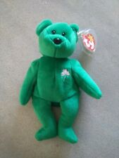 "Ty Original Beanie Baby ""Erin"" Lmt Edition Retired Excellent Condition"