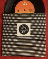 U2 - A Celebration - Irish 'Sunburst' CBS Label  + Picture Sleeve (Vinyl Record)