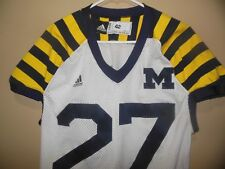 MICHIGAN WOLVERINE JAILBREAK GAME USED FOOTBALL JERSEY
