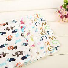 6pcs/set Cartoon Towels handkerchief Baby Swaddle Blanket Sheet Bath Towel Hot