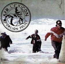Mr. Lexicon - Foreign Policy (CD / RARE Rap Hip-Hop / Scruffneck / 27 tracks)