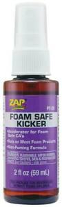 NEW ZAP Adhesives Foam Safe Kicker 2 oz PT28