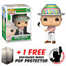 FUNKO POP CADDYSHACK JUDGE SMAILS WITH HAT EXCLUSIVE + FREE POP PROTECTOR
