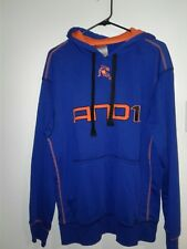 AND1 Men's Pullover Hoodie*100% Polyester Size Large