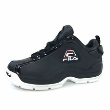FILA 96 LOW GRANT HILL TRAINERS SPORTS SNEAKERS MEN SHOES BLACK SIZE 8.5 NEW