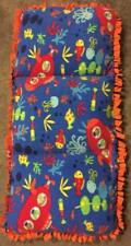Homemade Fleece Caterpillar Bed/Chair - Underwater Submarine Fish