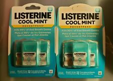 Listerine *Pocket Paks* 2 x COOL MINT 3 packs - *144 Oral Care Breath Strips*