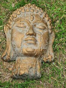 Buddha Head Plaque Latex Mould to create this Mindful ornament