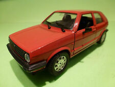 POLISTIL S209 VW VOLKSWAGEN GOLF 2 GL - RED 1:25 - EXCELLENT