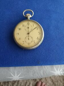 Antique Longines chronograph Pocket Watch.