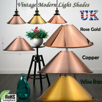 Metal Ceiling Vintage Industrial Loft Style Pendant Lighting Lampshade in Colour