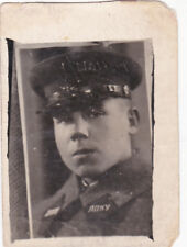 1939 RARE Cadet of the Infantry School Handsome boy man old Russian Soviet photo