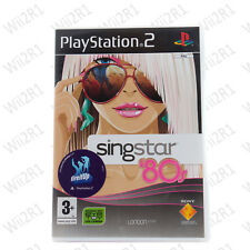 Singstar 80's for PS2 *REQUIRES MICS* Blondie Cure Wham! Dexy's *1ST CLASS POST*