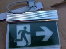 Blade Exit Sign Voyager.   New Unused Box Damaged E3m. Msf