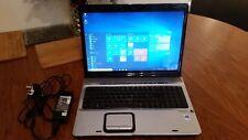 HP WINDOWS 10 Pro 64 Laptop WebCam Wifi HDMI 17 inch WXGA WIfi 2.1GHz 2Gig Ram