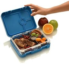 Bento Lunch Box Leak Proof Container Kids And Adults WonderEsque Marine Blue New