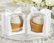 Sweetness & Light Cupcake Boxes Wedding Party Shower Favor Reception Set of 12