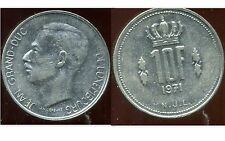 LUXEMBOURG  10 francs 1971
