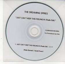 (DS654) The Dreaming Spires, Just Can't Keep This Feeling In - DJ CD