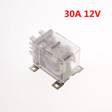 12VDC 30A DPDT Power Relay Motor Control Silver Alloy  JQX-12