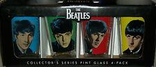 The Beatles Bar Glass John Lennon Paul Mccartney Xmas Gift Pint Beer Glasses Set