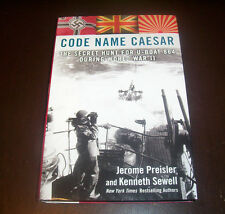 CODE NAME CAESAR U-Boat 864 World War II Submarine Warfare UBoat Subs Book NEW