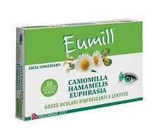 Recordati Gocce Oculari rinfrescanti Eumill 10 flaconcini monodose 0 5 ml