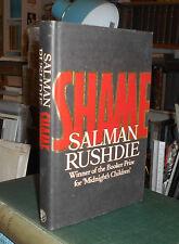 SALMAN RUSHDIE ------ SHAME ---- FIRST HARDBACK UK EDITION 1983