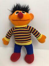 Playskool Sesame Street Ernie Stuffed Plush Doll Jim Henson 1984