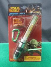 *New* 2013 Star Wars Lightsaber Lip Balm *Yoda Edition* ( With Carabiner Clip )