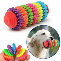 Durable Rubber Pet Dog Puppy Cat Dental Teething Healthy Teeth Gums Chew Toy UK