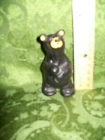 "Big Sky Carvers Bearfoots Boyd Standing Figu Limited # Jeff Fleming 3 1/2"" A-797"