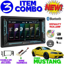01 02 03 04 FORD MUSTANG TOUCHSCREEN BLUETOOTH DVD CD USB AUX CAR RADIO STEREO