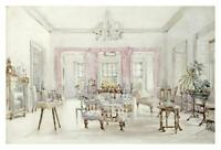 """The Drawing Room of Queen's House, Barbados, 1880-Paper Art-38""""x25.796"""""""
