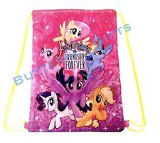 My Little Pony Gym Bag Swim PE School Girl Draw String Gift Breakfree Strap Pink