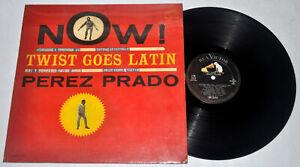U.S. Pressing PEREZ PRADO Now! Twist Goes Latin LP Vinyl Record